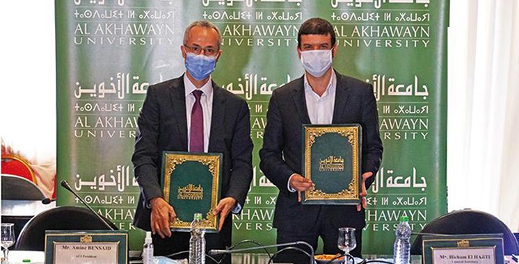 Nouvelles diplomations signées Al Akhawayn et l'Université Mohammed VI Polytechnique