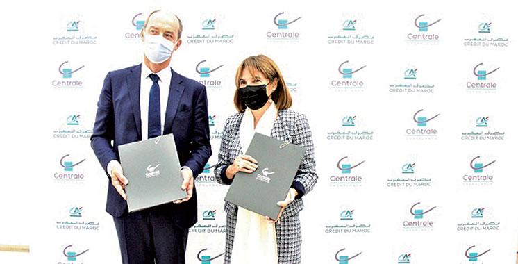 Crédit du Maroc et l'Ecole centrale de Casablanca renforcent leur partenariat