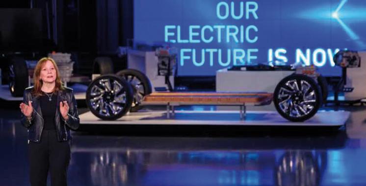 Véhicules électriques : GM  annonce un investissement  de 35 milliards USD d'ici 2025