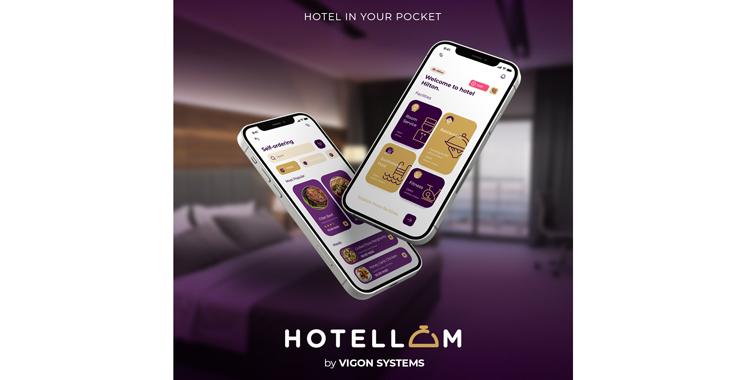 Il s'agit d'une plateforme offrant  une panoplie de services au sein des hôtels: Vigon Systems lance Hotellom