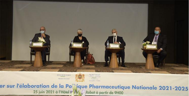 Lancement des premiers ateliers sur l'élaboration de la Politique Pharmaceutique Nationale 2021-2025