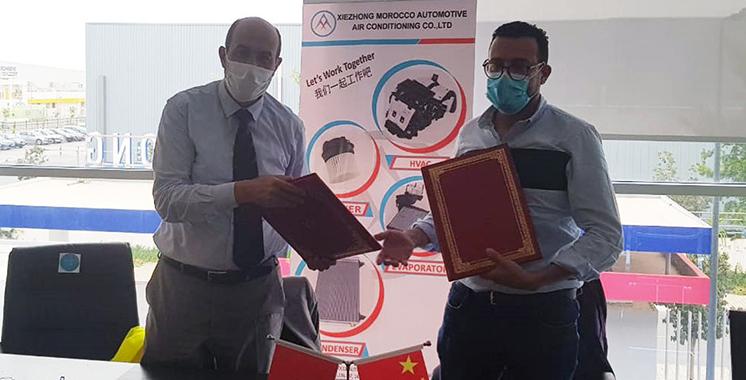 Formation continue  : L'ESITH scelle un partenariat avec l'équipementier Xiezhong