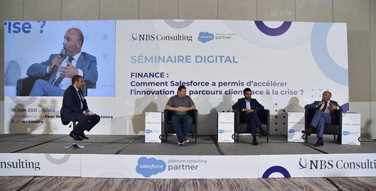 La transformation numérique dans  le secteur financier au cœur du débat