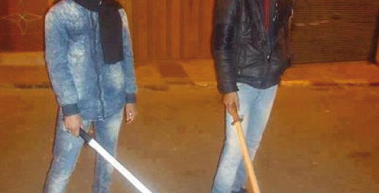 Tamansourt : Démantèlement d'une bande d'agresseurs