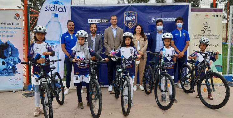 A l'occasion de la journée mondiale du vélo : Sidi Ali-Kinetik et Tibu Maroc s'unissent contre l'abandon scolaire
