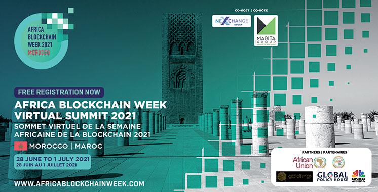 Top départ de la semaine  africaine de la blockchain