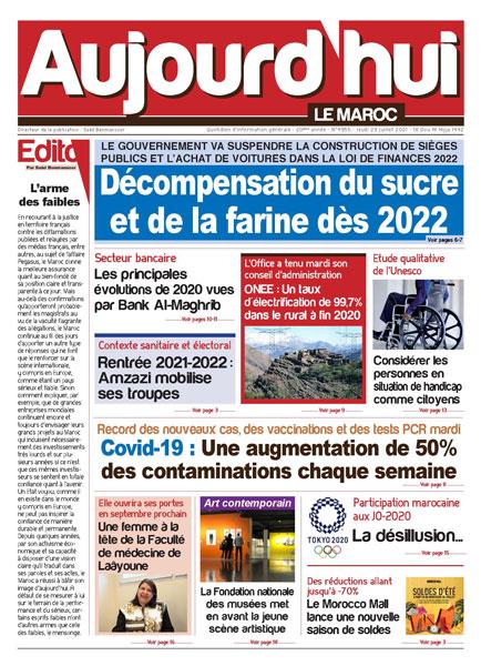 Journal Électronique du Jeudi 29 Juillet 2021