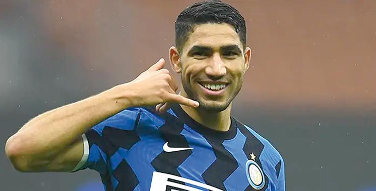 Ligue 1 : Transfert imminent d'Achraf Hakimi de l'Inter Milan au PSG