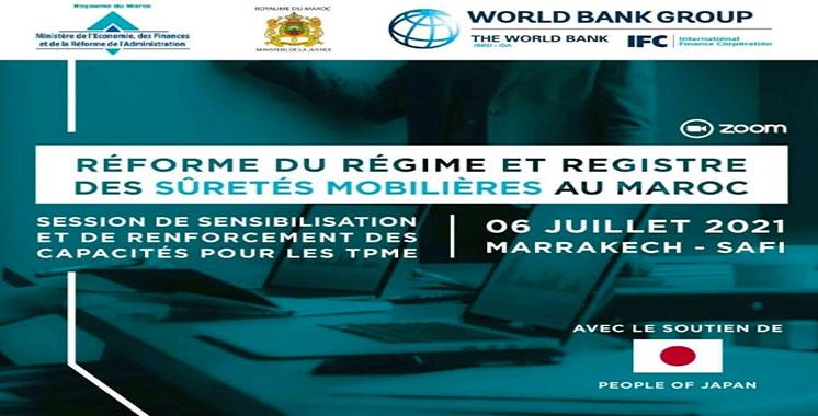 Sûretés mobilières: Succès du Registre national électronique