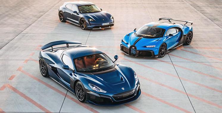 Bugatti passe sous le contrôle du croate Rimac