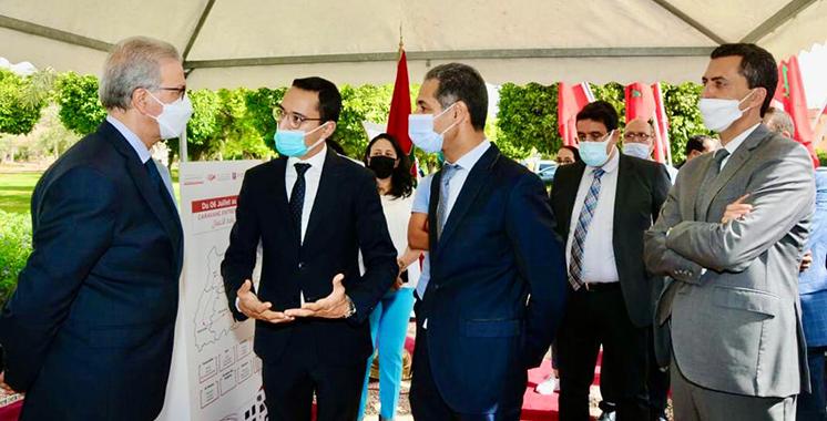 En quête des jeunes entrepreneurs dans la région  : Le CRI Marrakech-Safi lance sa première caravane  de l'entrepreneuriat