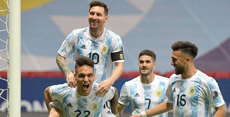 Copa América  : L'Argentine de Messi défie  le Brésil de Neymar en finale