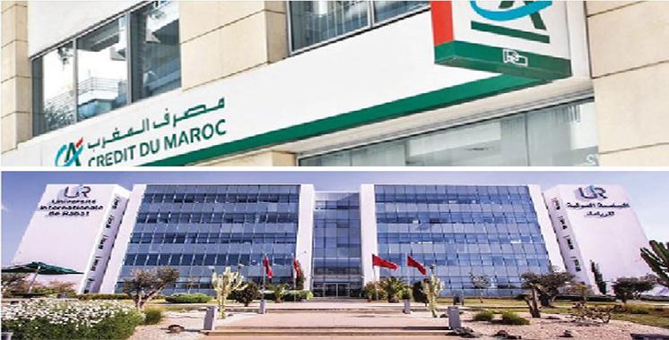 Formation : Crédit du Maroc et l'UIR scellent un partenariat