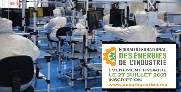Forum international des énergies de l'industrie: Une première édition sous  le signe de la décarbonation