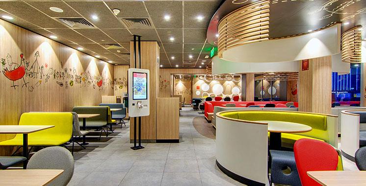 Le nouveau McDonald's Corniche opérationnel