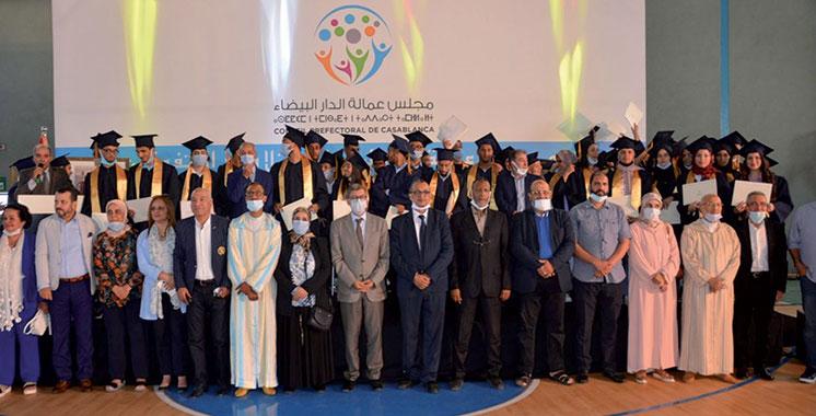 Promotion de l'émulation et de l'excellence : 87 bacheliers de Casablanca récompensés