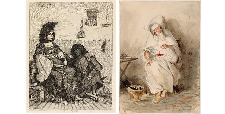 Musée Mohammed VI d'art moderne et contemporain: Hommage à Eugène Delacroix