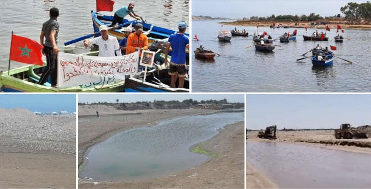 Pollution de l'estuaire d'Oum Er Rbiaâ : Les pêcheurs et la société civile en colère
