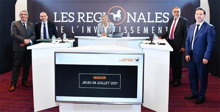 Une forte adhésion des acteurs d'Oujda et Nador aux Régionales de l'investissement