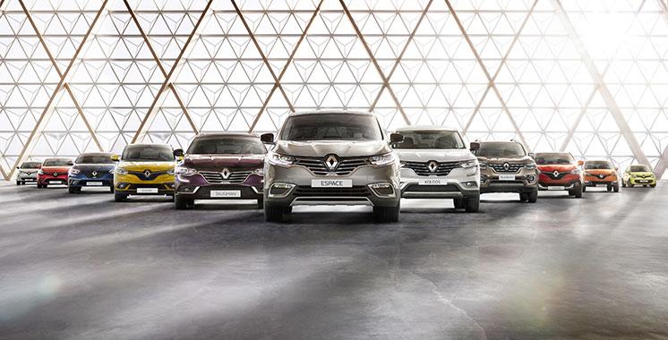 Renault : Les ventes mondiales en hausse  de 18,7% au premier semestre 2021
