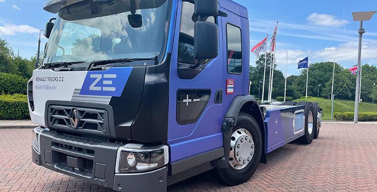 Renault Trucks présente le D Wide Z.E.  LEC 100% électrique