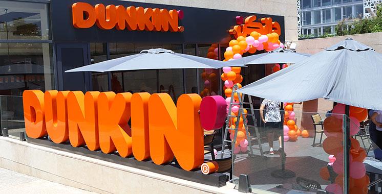 Restauration : Dunkin's Brands  ouvre sa première enseigne à Rabat