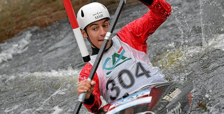 Slalom Kayak aux J.O de Tokyo : Le Marocain Mathis Saoudi perd en demi-finale