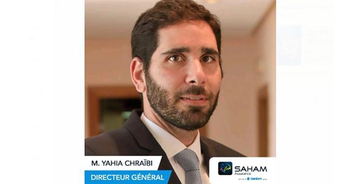 Yahya Chraibi, nouveau Directeur Général Saham Assurance