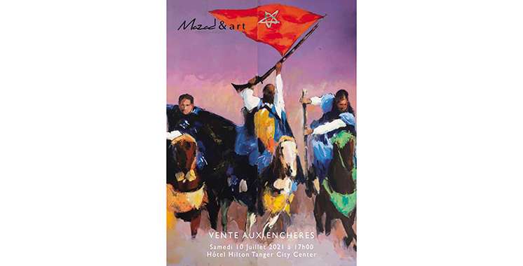 Mazad & art rend hommage  à Khalid Chakour