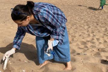 Casablanca : Opération Clean Beach by Green Invest