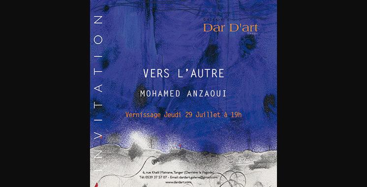 «Vers l'autre» : Plongée  dans l'univers de Mohamed Aznaoui à Tanger