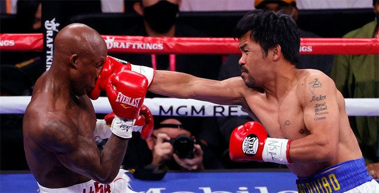 Boxe : Pacquiao n'exclut pas une revanche contre Ugas