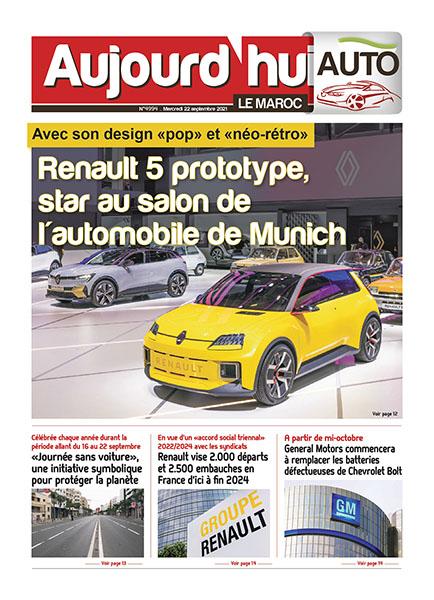 Dossier Automobile du Mercredi 22 septembre 2021