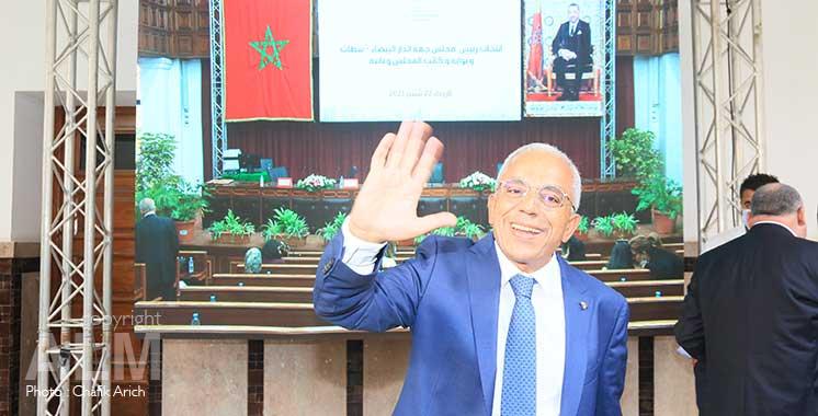 Conseil de la région Casablanca-Settat : Abdellatif Maâzouz  élu président