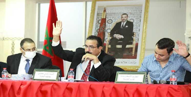 Élection de Abdelouahed Chafiki  du RNI président de l'arrondissement Ménara