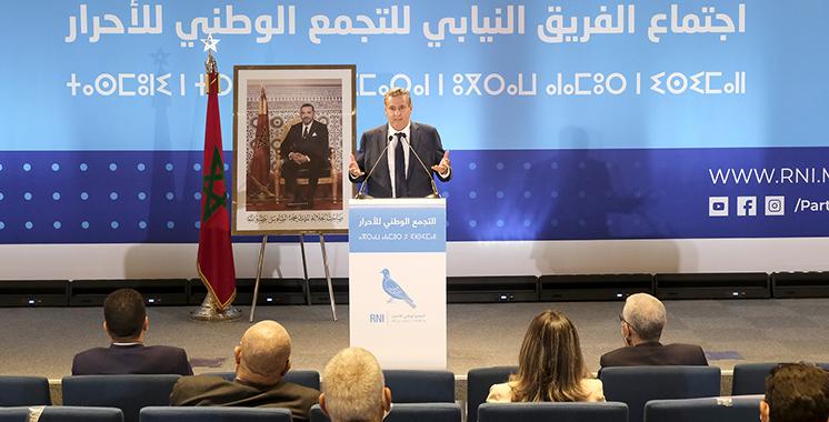 Akhannouch mobilise les députés du RNI