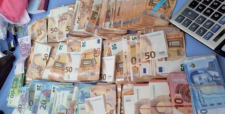 Tanger Med : Saisie de sommes importantes  en dirhams et en devises