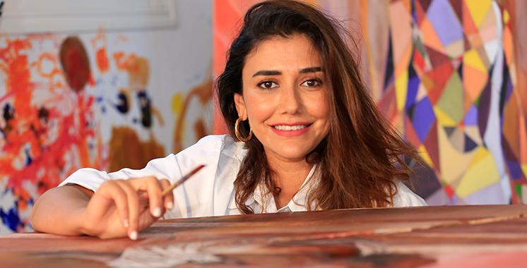 Imane Feriani dévoile sa nouvelle série à la galerie Bab El-Kebir