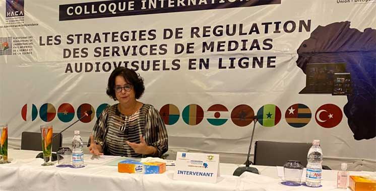 Régulation des plateformes numériques : Mme Akharbach appelle à une coopération internationale impliquant l'Afrique