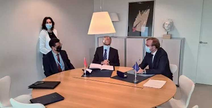 Le Maroc signe la «Convention  de Macolin» sur la manipulation  des compétitions sportives