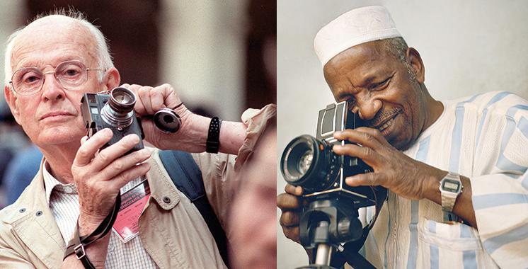 Malick Sidibé, Henri Cartier-Bresson et Touhami Ennadre à l'affiche