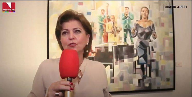 Vernissage à Casablanca de l'exposition
