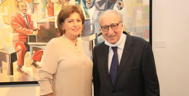 Mounia Amor à So Art Gallery Casablanca 2