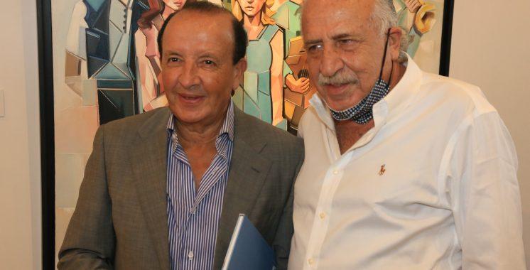Mounia Amor à So Art Gallery Casablanca 7