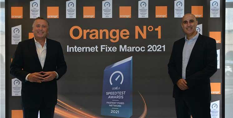 Services : Orange couronné réseau internet fixe le plus rapide au Maroc