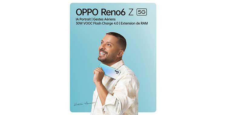 OPPO officialise la commercialisation du Reno6 Z 5G