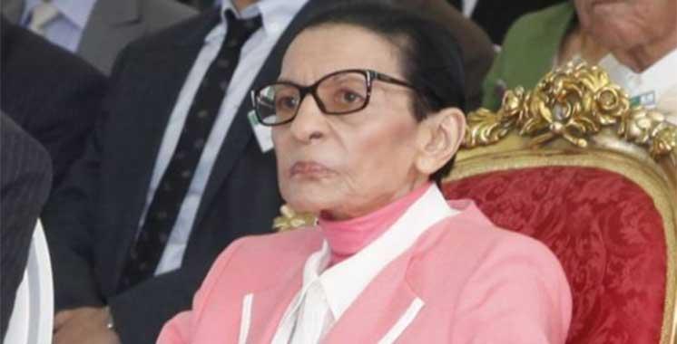 Décès de SAR  la Princesse Lalla Malika, tante  de SM le Roi  Mohammed VI