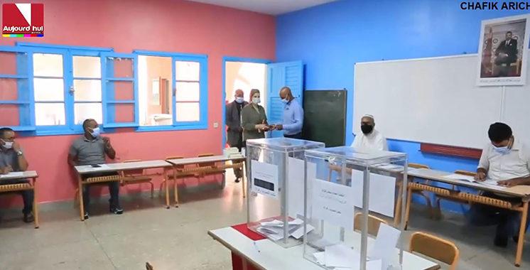 Sous l'oeil des observateurs de la société civile, bon déroulement de l'opération de vote
