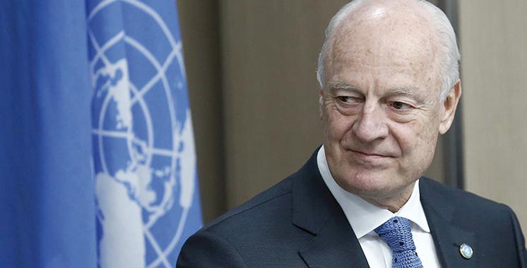 Le SG de l'ONU nomme M. Staffan de Mistura en tant que son Envoyé personnel pour le Sahara marocain