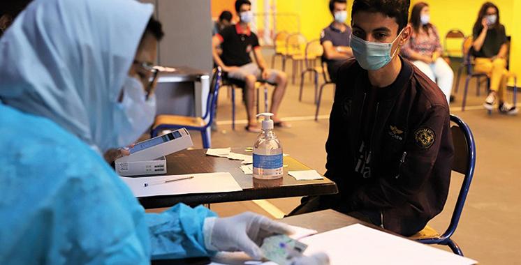 Casablanca: Ouverture exceptionnellement de centres de vaccination les 25 et 26 septembre au profit des élèves de 12 à 17 ans